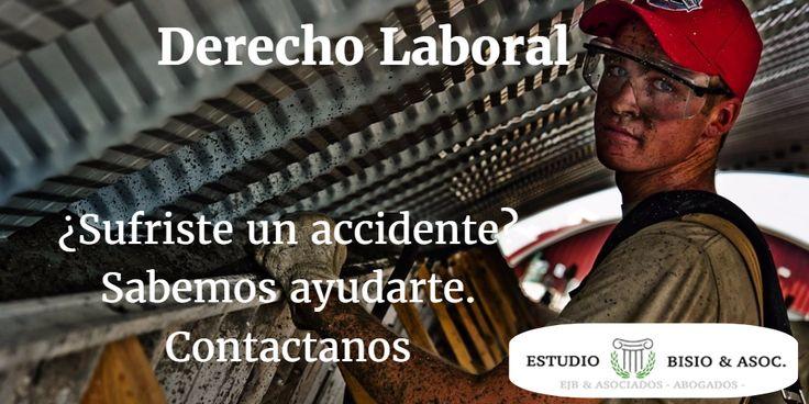 #Derecho #Laboral Defendemos los derechos del #trabajador ante todo. #Despidos, #Accidentes, #ART Escuchamos tu caso http://www.estudiobisio.com/
