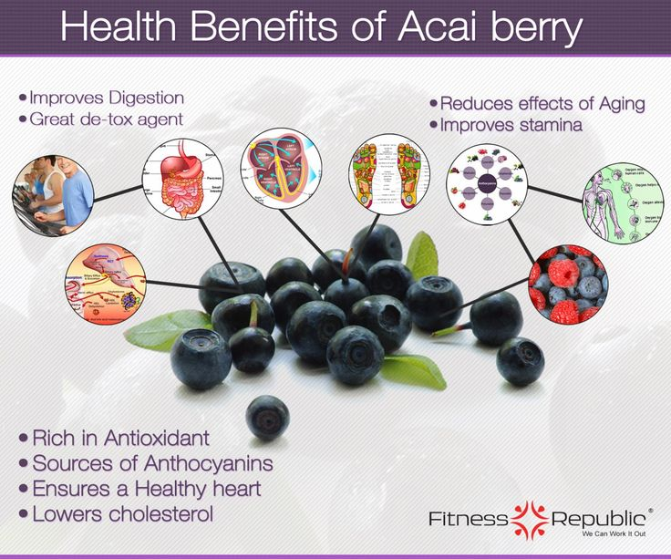 Health and Antioxidant Benefits of Acai Berry. Learn how to get this powerful fruit into you diet on a daily basis. http://www.engineeredlifestyles.com/blog/healthy-lifestyle/antioxidant-properties-of-acai-berry/ #acai #antioxidants