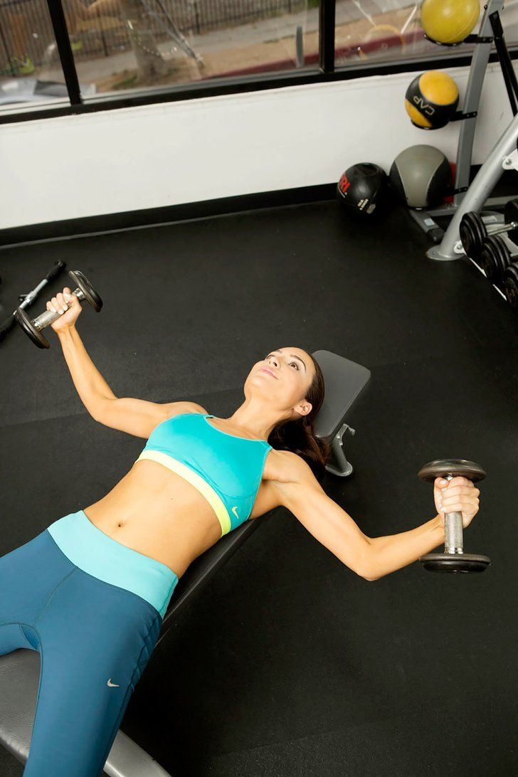 How to Exercise Away Pesky Armpit Fat