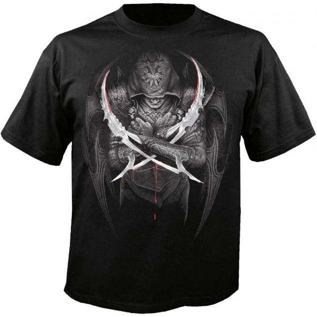 Camiseta Rockera Swords de Spiral Direct #rock #camiseta #xtremonline