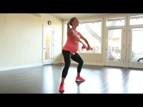 40 Weeks of Fitness: Prenatal Workout Series with Lauren Huber (Video 1 of 4)