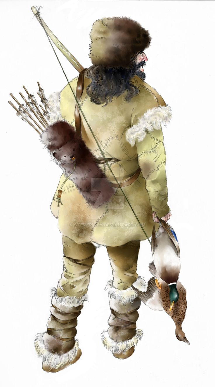 Mesolithic Hunter Steve Rigby Stone age man, Stone age