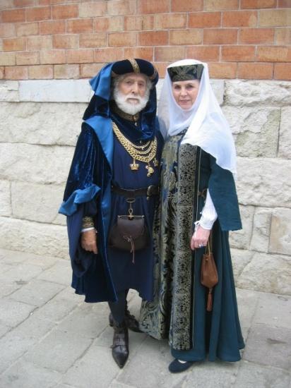 XVth c. costumes by Stefano Nicolao
