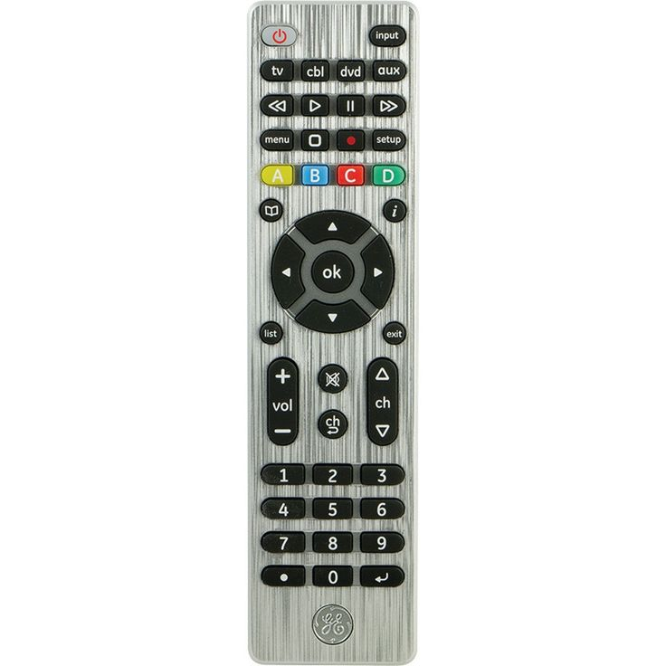 General Electric 4-device Universal Remote Control