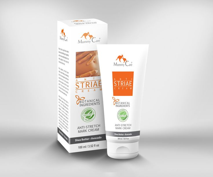 Anti-Striate Cream  Made with botanical and certified organic ingredients  Gentle and natural skin care for mommies