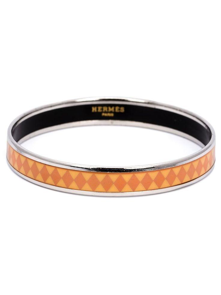 Hermès Vintage enamelled  band bracelet