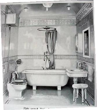 93 best images about period bathrooms on pinterest art for Victorian era bathroom designs