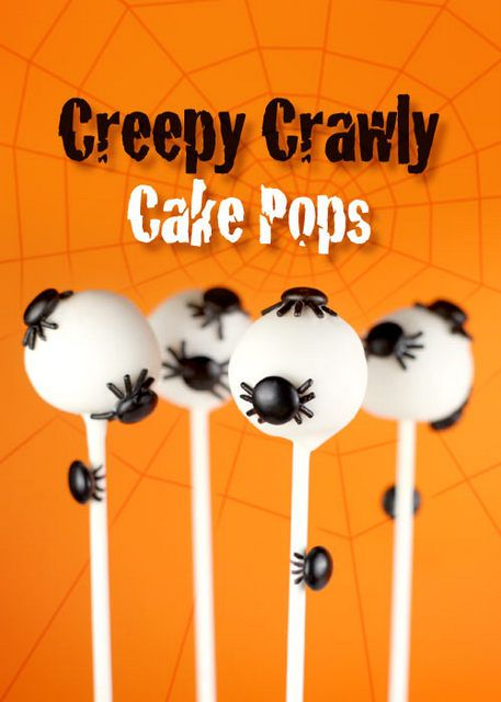 16 Halloween cake pops/ cookie pops (Decorating Ideas)