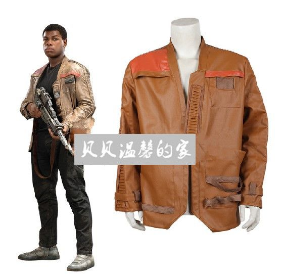 Star Wars Costume Adult Star Wars Finn Leather Jacket Costume Mens Star Wars Cosplay Costume From Star Wars The Force Awakens #Affiliate