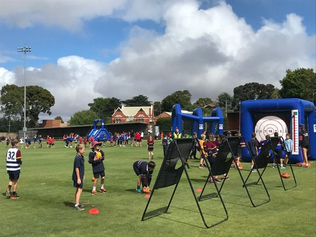 Inflatable AFL Playground