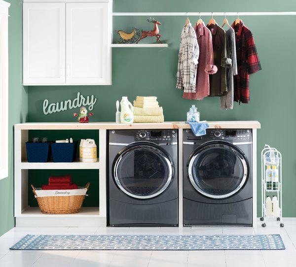 Safavieh Dhurries Hand Woven Cotton Dark Blue Ivory Area Rug Reviews Wayfair Eclectic Bedroom Design Laundry Room Design Eclectic Bedroom