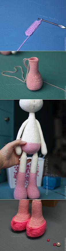 Мастер-класс: Вязаная куколка. Часть вторая - Ярмарка Мастеров - ручная работа…