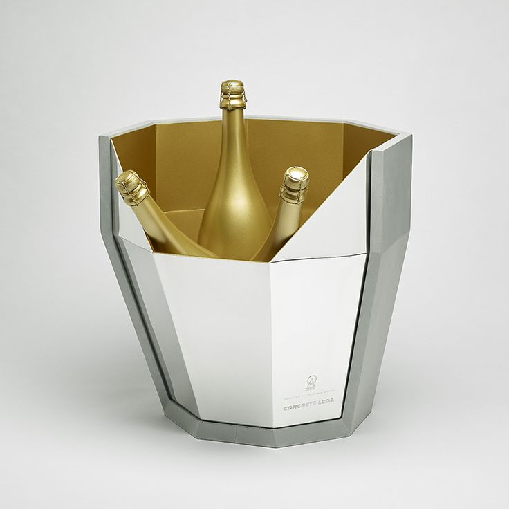 Multifacet collection designed by matali crasset and created by OA 1710 & Concrete LCDA // Champagne Bucket