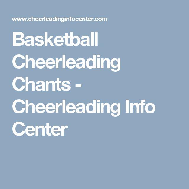 Basketball Cheerleading Chants - Cheerleading Info Center