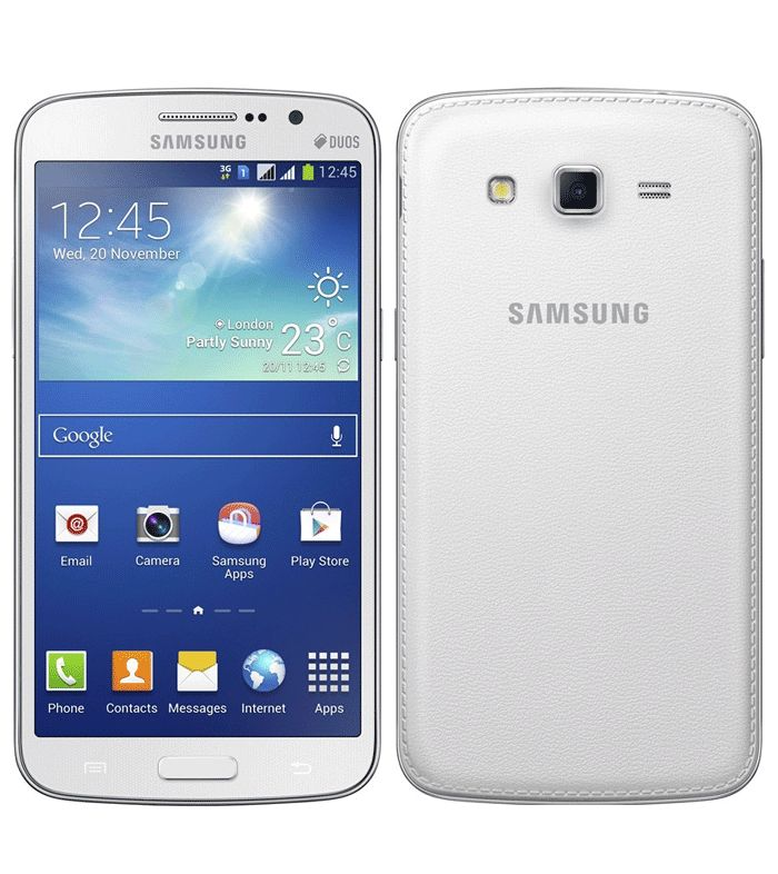 Samsung Galaxy Grand 2 is powered by a 1.2GHz quad-core Qualcomm processor alongside 1.5GB of RAM & runs Android 4.3 Jelly Bean. It sports an 8-megapixel autofocus rear camera accompanied by an LED flash. It also houses a 1.9-megapixel front-facing camera. It comes with 8GB inbuilt storage, which is further expandable up to 64GB via microSD card.  http://www.ispyprice.com/mobiles/2665-samsung-galaxy-grand-2-price-list-india/