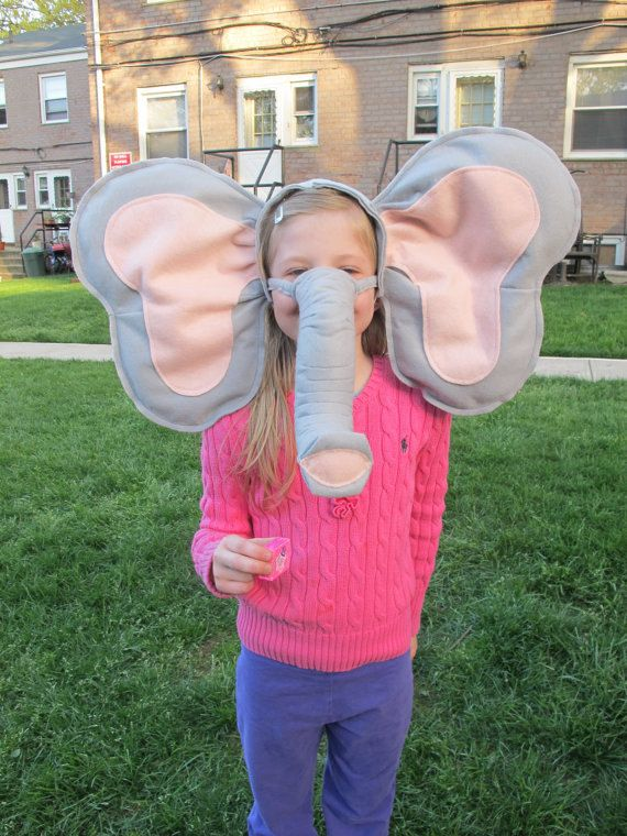 elephant ears costume - Google Search