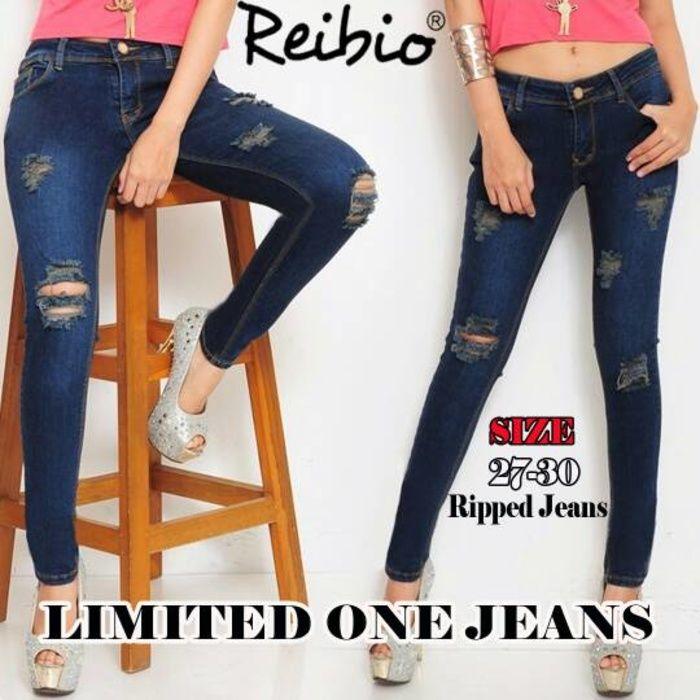 jeans women sobek