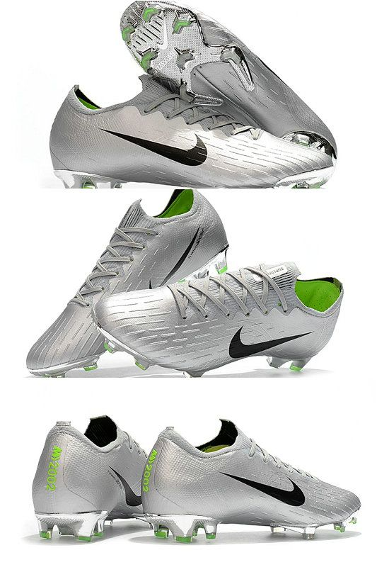 432079518 Nike Mercurial Vapor XII Elite FG Firm Ground Cleats - Silver Black ...