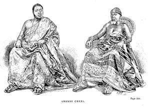Asanteman Obirempons, c.1873, Visual Art by Jules Gros.