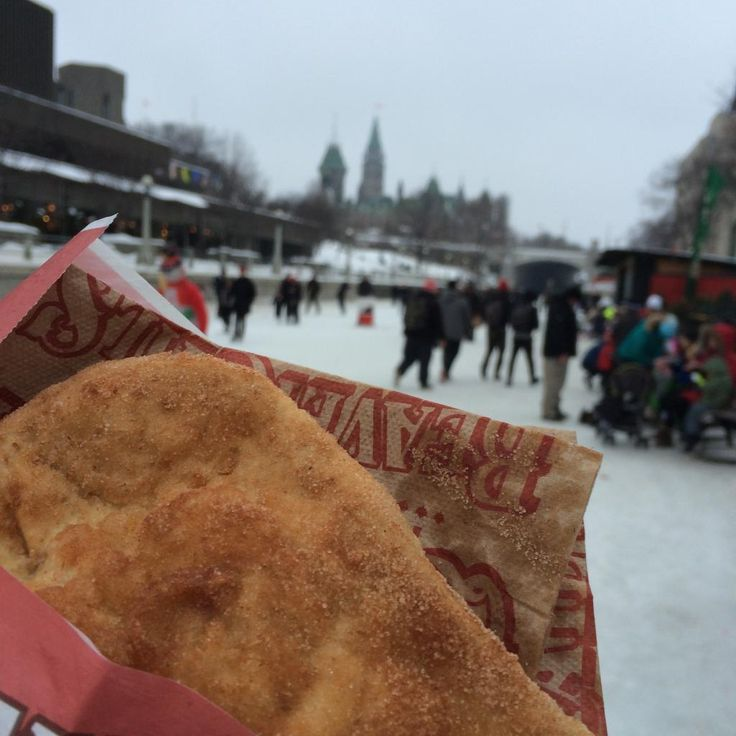 Sandy Tunwell (@accountrain) thinks BeaverTails on the Canal are the best part of winter. We'd have to agree! via Twitter