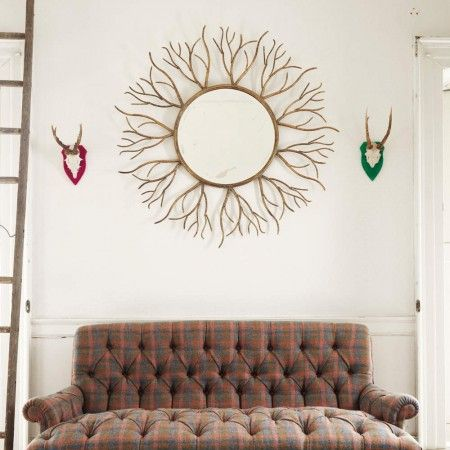 Gold Twig Mirror - View All Mirrors - Mirrors
