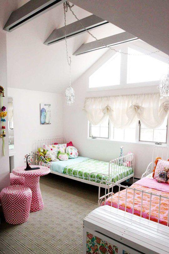 Nice shared bedroom.