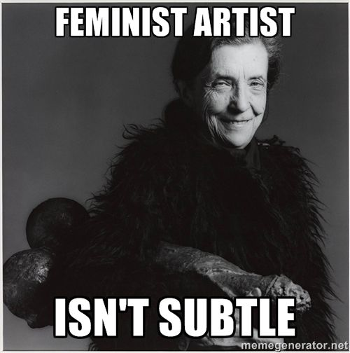 Image result for feminist art meme