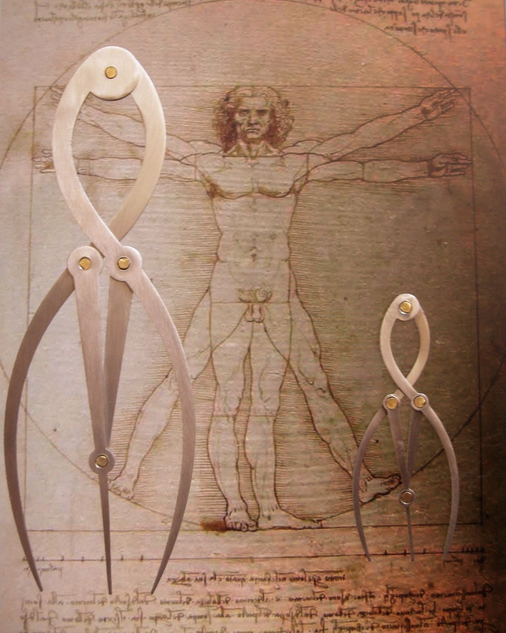 Golden Mean Calipers By Nick Taylor Laser Cut Design