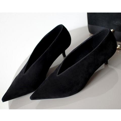 [EBay] Xgravity European American Pop Star Pointed Toe Thin Heel Woman Shoes Deep V Design Lady Fashion Shoes Elegant Women Shoe C264
