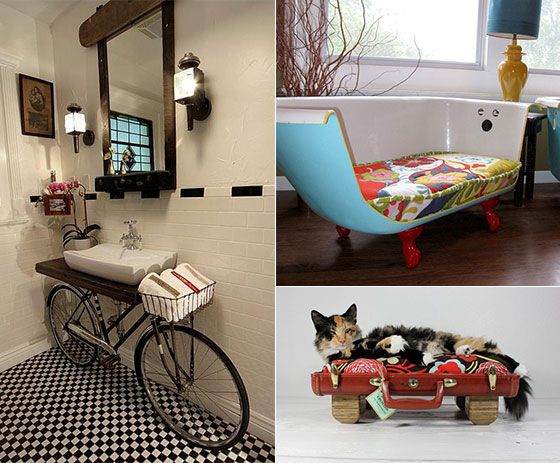 Creative Upcycling Furniture and Home Decoration Ideas