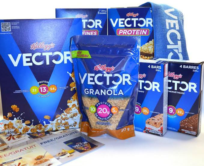 Fuel Your Summer Pursuits with NEW Vector Granola With Giveaway - Tales of a Ranting Ginger
