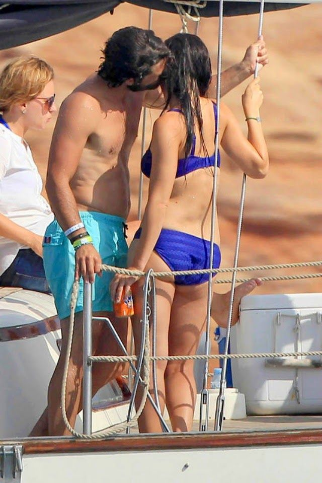29 JULY 2014  Prince Carl Philip and Sofia Hellqvist Prince Carl Philip and his fiance Sofia Hellqvist are currently on holiday in İbiza .