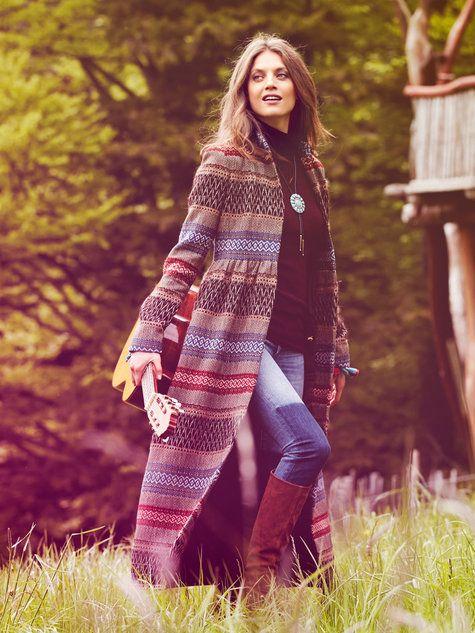Burdastyle highwaist maxi coat