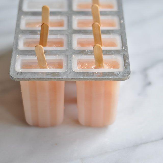 Three Ingredient Grapefruit Popsicles