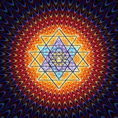"""Esta es una imagen que contiene un patrón de activación de tu glándula pineal (o también llamada """"tercer ojo"""", sexto sentido o intuición). Sólo la ... Seguir Leyendo"""