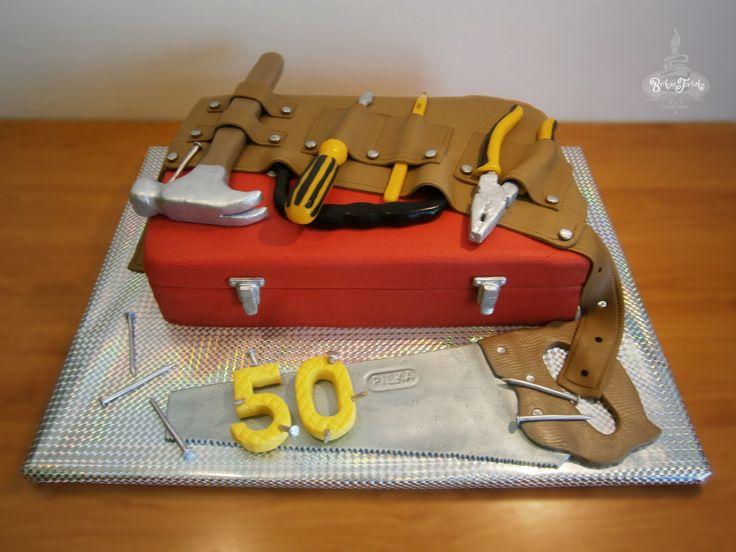Toolbox Cake Fondant Cakes