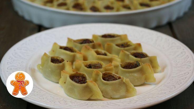 Манты в духовке удобный и простой рецепт
