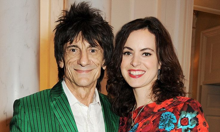 Sally Wood wishes the 31-year age gap with Ronnie Wood wasn't there