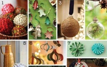 Addobbi natalizi fai da te: le palline per l'albero [FOTO] - Preparare l'albero di Natale è una delle cose più divertenti del Natale. E ancor più affascinante è farlo con le palline create con le nostre manine.