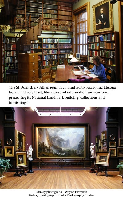St. Johnsbury Athenaeum, St. Johnsbury, Vermont.
