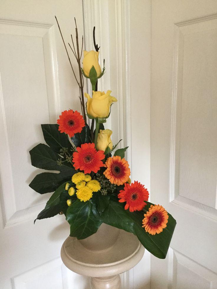 Roses and gerbera