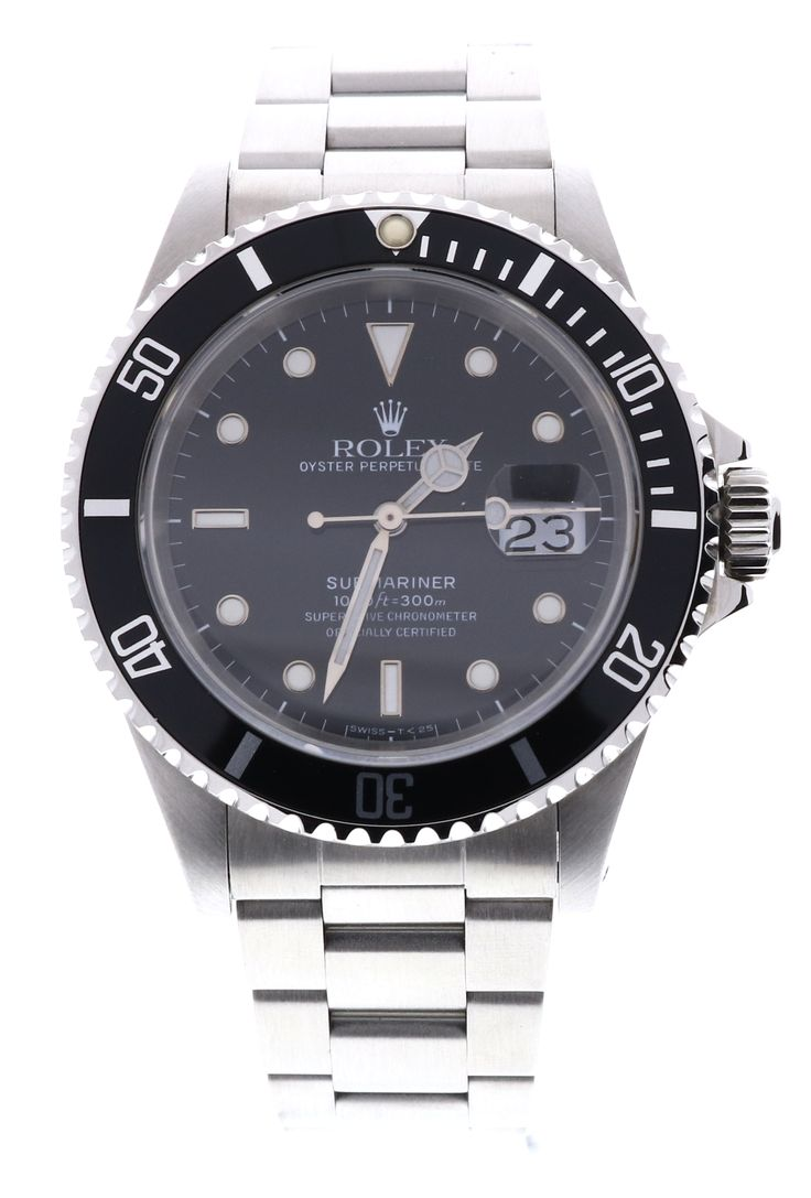 Rolex Submariner 16610, Stainless Steel, Black Dial & Date. Available to buy now on finance, or for part exchange, at www.humberstonesjewellers.co.uk