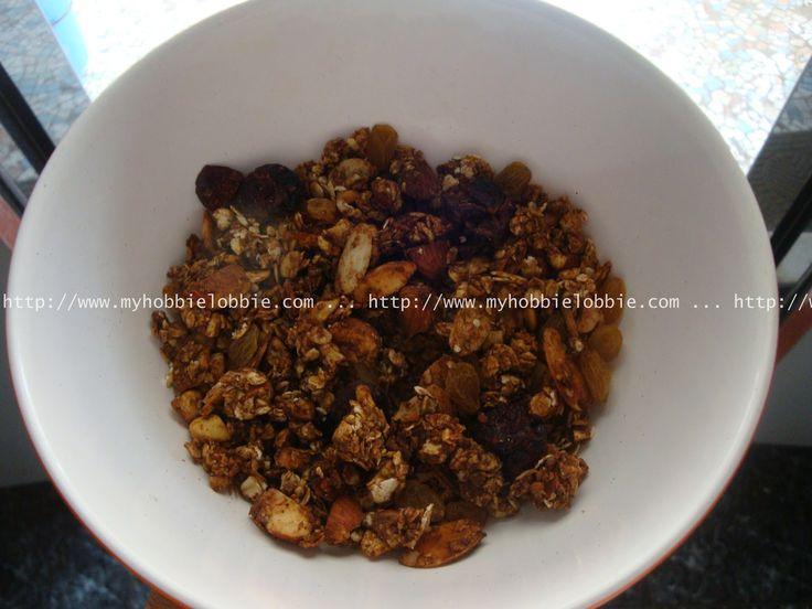SRC: Nutty Chocolate Granola