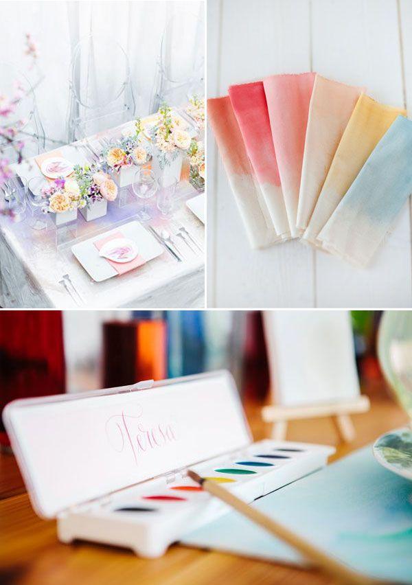 Preferenza Oltre 25 fantastiche idee su Matrimonio acquerello su Pinterest  RR62