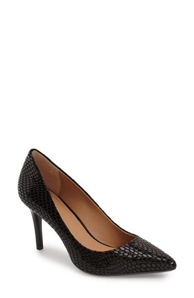 CALVIN KLEIN 'Gayle' Pointy Toe Pump (Women). #calvinklein #shoes #pumps