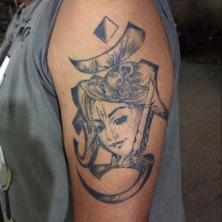 Krishna tattoo -by pranay shah