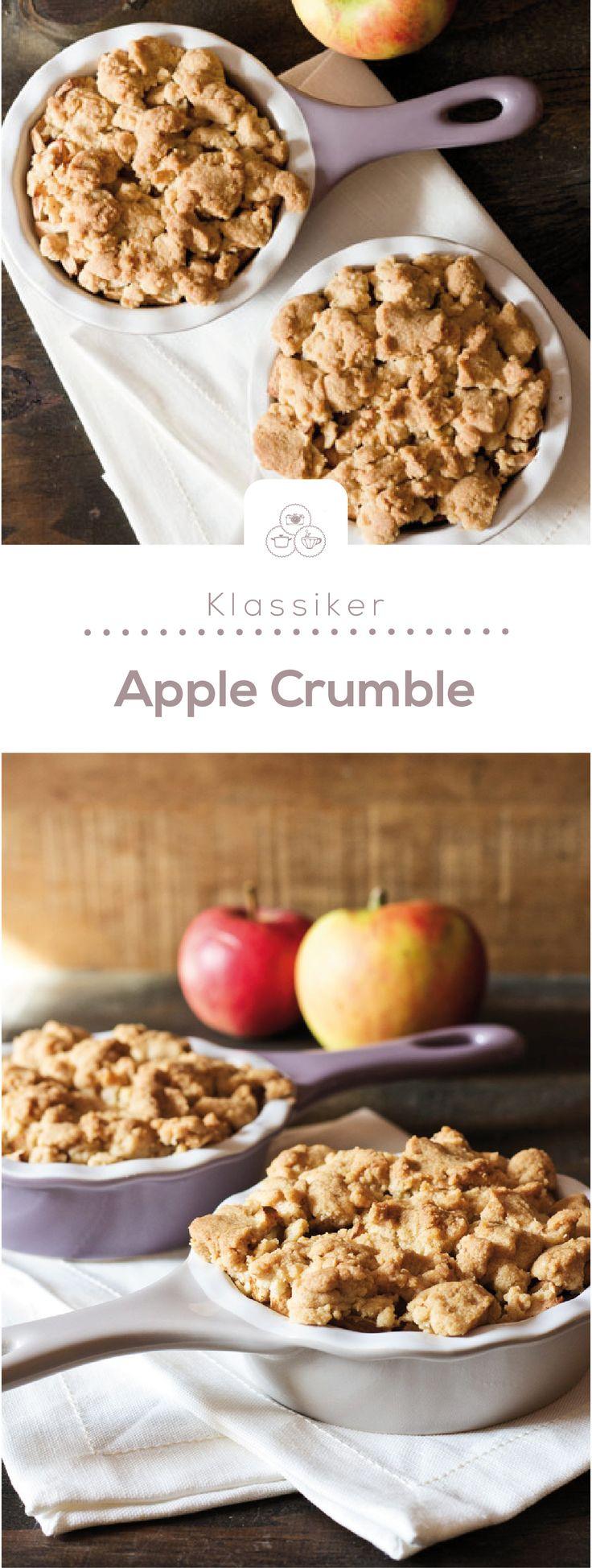 apple crumble oder wie war das gleich mit dem streusel rezept vegetarisch lecker. Black Bedroom Furniture Sets. Home Design Ideas