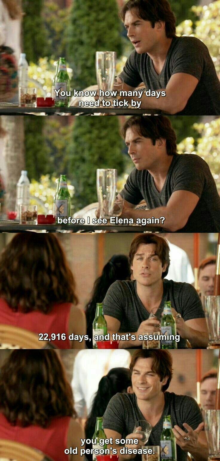 The Vampire Diaries 7x1: Damon and Bonnie   Lol Damon #BamonFriendship