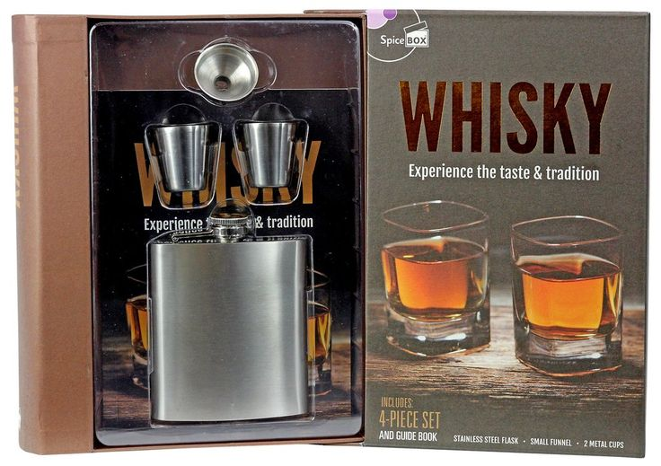 Whiskey Gift Set - A perfect Father's Day Gift.