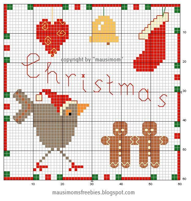 mausimom's Vogel-Freebies: Vogel-Weihnachten